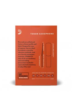 Трости для духового инструмента D'ADDARIO Rico - Tenor Sax #3.5 (1шт)