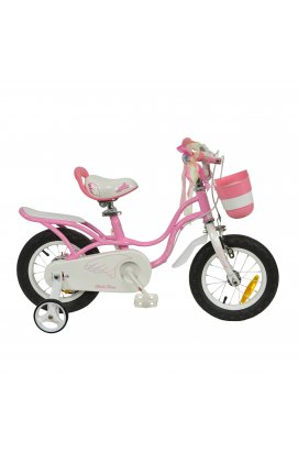 "Велосипед RoyalBaby LITTLE SWAN 12"", OFFICIAL UA, розовый"