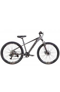 """Горный Велосипед Велосипед AL 26"""" Formula ZEPHYR 3.0 AM DD 2022 (темно-серебристый с черным (м))"""