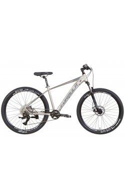 """Горный Велосипед Велосипед AL 27.5"""" Formula ZEPHYR 1.0 AM DD 2022 (серебристый с серым)"""