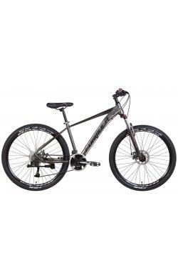 """Горный Велосипед Велосипед AL 27.5"""" Formula ZEPHYR 3.0 AM DD 2022 (темно-серебристый с черным (м))"""