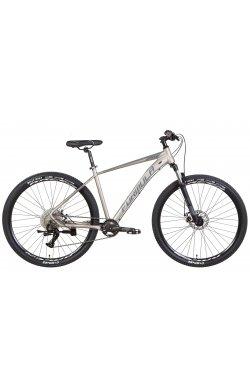 """Горный Велосипед Велосипед AL 29"""" Formula ZEPHYR 1.0 AM DD 2022 (серебристый с серым)"""