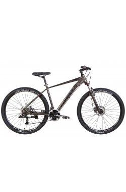 """Горный Велосипед Велосипед AL 29"""" Formula ZEPHYR 3.0 AM DD 2022 (темно-серебристый с черным (м))"""