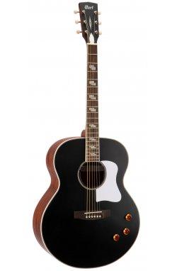 Электро-акустическая гитара CORT CJ Retro (Vintage Black Matte)