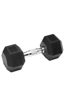 Гантель обрезиненная SPART 60 кг