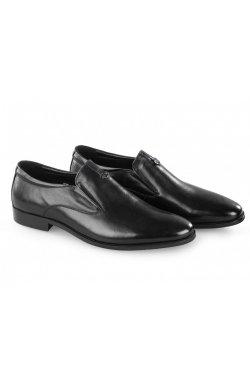 Туфли мужские Carlo Delari 7213006 46 цвет черный, кожа