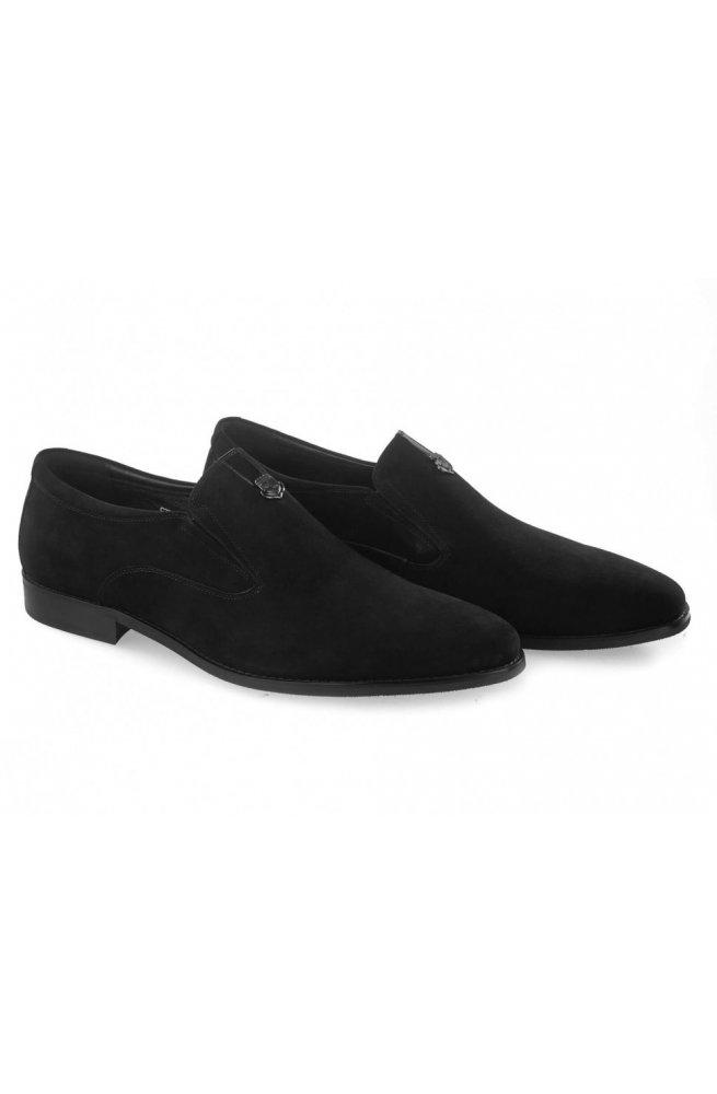 Туфли мужские Carlo Delari 7213007 46 цвет черный, кожа, замша