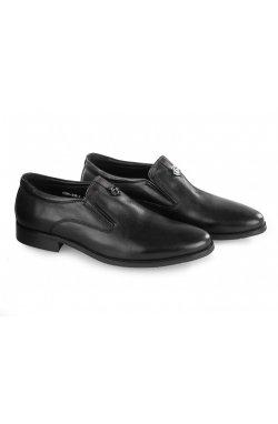 Туфли мужские Carlo Delari 7213019 цвет черный, кожа