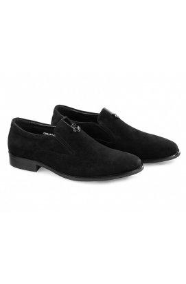 Туфли мужские Carlo Delari 7213020 цвет черный, кожа, замша