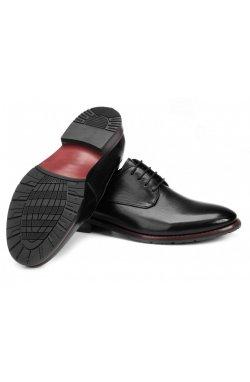 Туфли мужские Carlo Delari 7213021 цвет черный, кожа