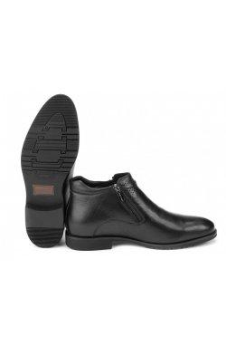 Ботинки мужские Carlo Delari 7164092 цвет черный, кожа