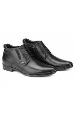 Ботинки мужские Carlo Delari 7164096 цвет черный, кожа