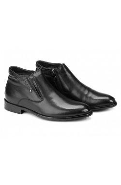 Ботинки мужские Carlo Delari 7214011 цвет черный, кожа