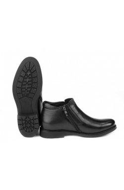 Ботинки мужские Carlo Delari 7214041 цвет черный, кожа