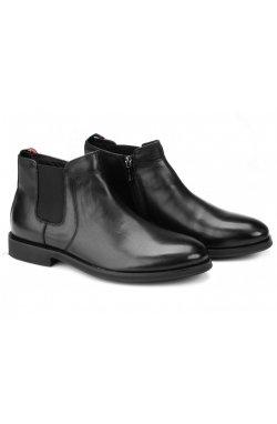 Ботинки мужские Carlo Delari 7214045 цвет черный, кожа