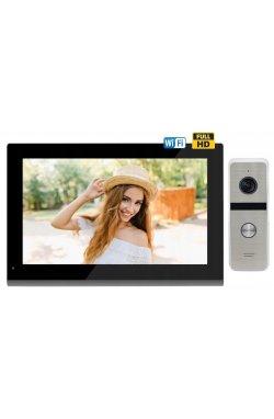 Комплект домофона CoVi Security TAB FHD Wi-Fi Black + Iron FHD Silver