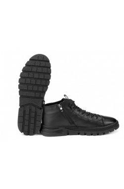 Ботинки мужские Clemento 7214305 цвет черный, кожа