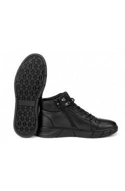 Ботинки мужские Clemento 7214313 цвет черный, кожа