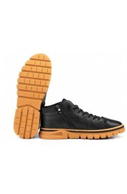 Ботинки мужские Clemento 7214314 цвет черный, кожа