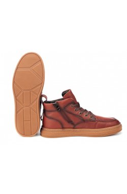 Ботинки мужские Clemento 7214315 цвет бордо, кожа