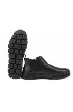Ботинки мужские Dan Marest 7214163 цвет черный, кожа