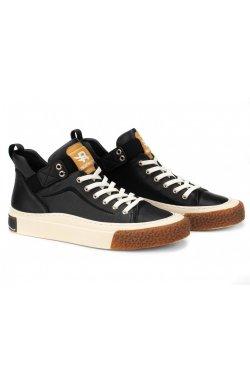 Ботинки мужские Dan Marest 7214167 цвет черный, кожа