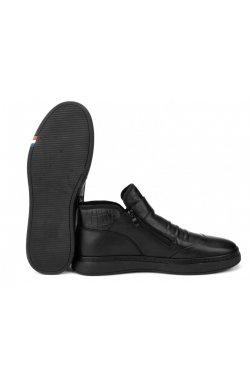 Ботинки мужские Clemento 7214307-Б цвет черный, кожа