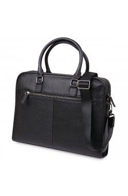 Кожаная мужская сумка Vintage 20375 Черный