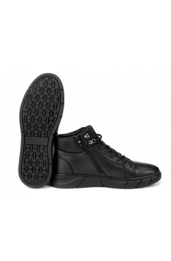 Ботинки мужские Clemento 7214313-Б цвет черный, кожа