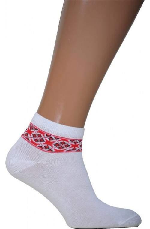 Носки с вышивкой N04