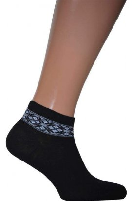 Носки мужские. Цвет черный.