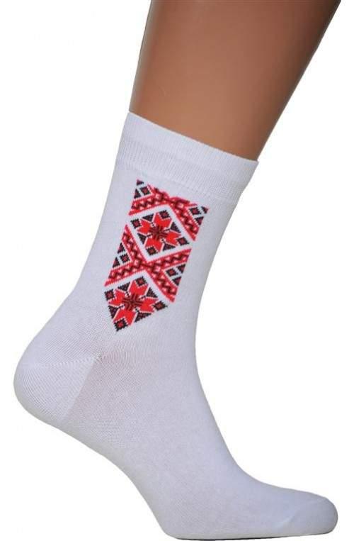 Носки с вышивкой N17