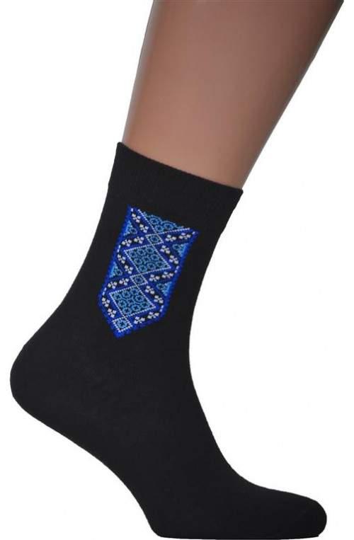 Носки с вышивкой N23