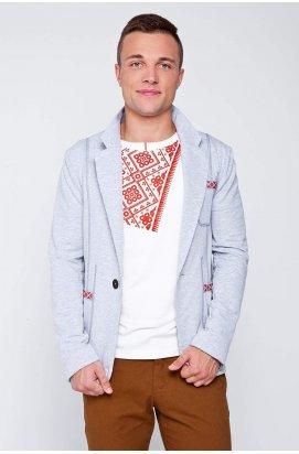 Пиджак в украинском стиле