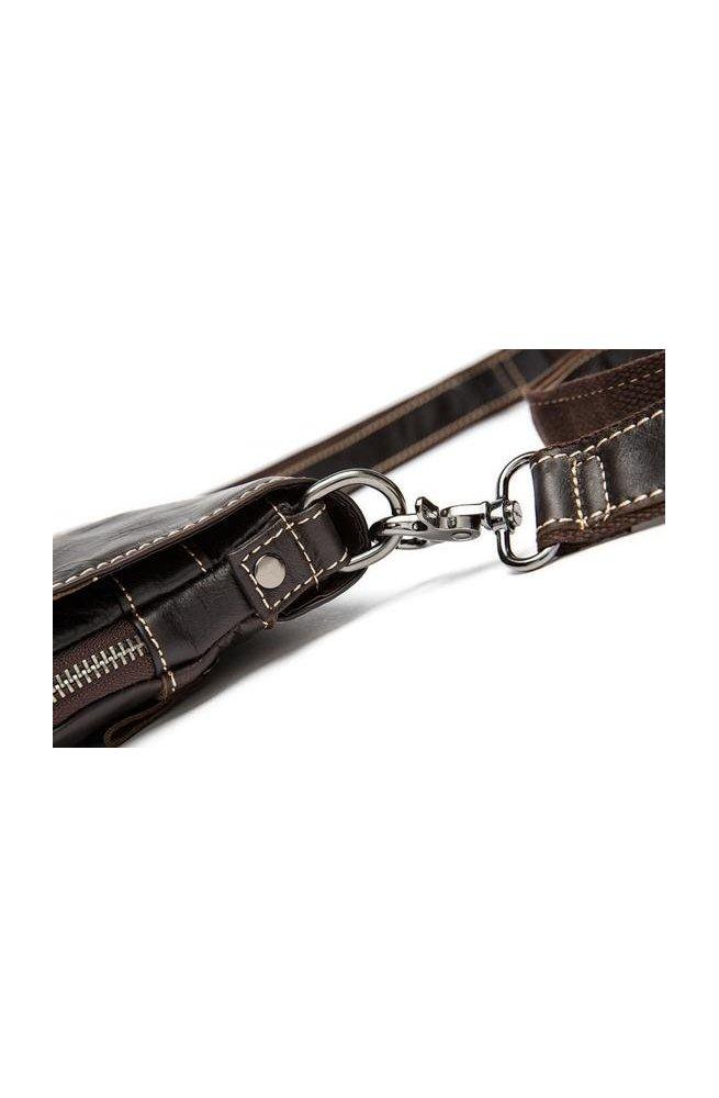 Мессенджер Bexhill BX8005C - Натуральна шкіра, коричневий