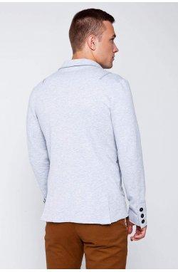 Пиджак мужской. Цвет серый.