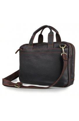 Сумка TIDING BAG 7092Q - Натуральная кожа, Коричневый