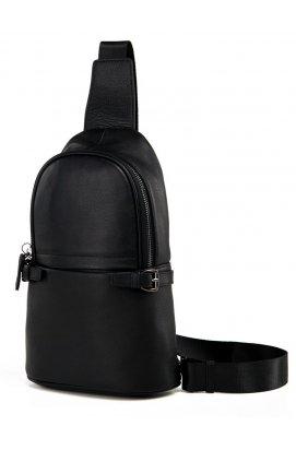 Рюкзак Tiding Bag M856-1A - Натуральная кожа, чёрный