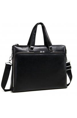 Сумка Tiding Bag M664-4A - Натуральная кожа, чёрный