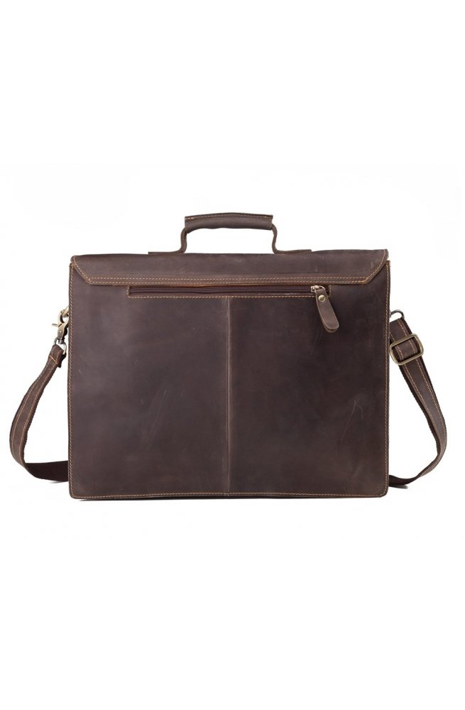 Портфель Tiding Bag GA2095R - Натуральна шкіра, коричневий