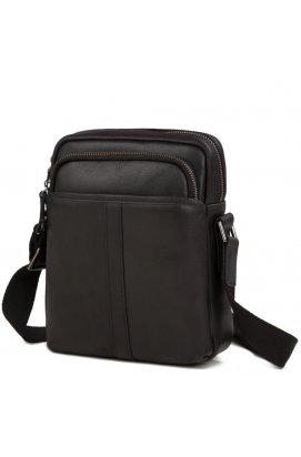 Мессенджер Tiding Bag M47-21109-1A - Натуральная кожа, черный