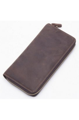 Клатч Tiding Bag t4007 - Натуральная кожа, коричневый