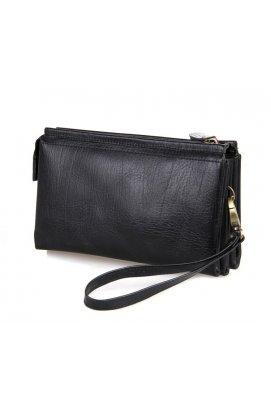 Клатч TIDING BAG 8071A - Натуральная кожа, чёрный