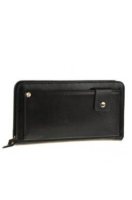 Клатч Tiding Bag JN9019A - Натуральная кожа, чёрный