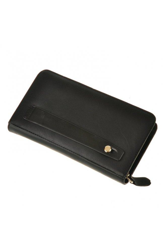 Клатч Tiding Bag JN9019A - Натуральная кожа, черный