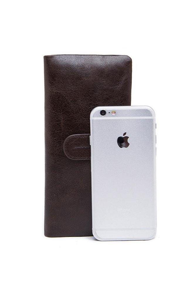 Клатч BEXHILL BX9202 - Натуральная кожа, коричневый