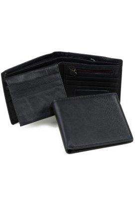 Портмоне Tiding Bag A7-270-1A - Натуральная кожа, чёрный