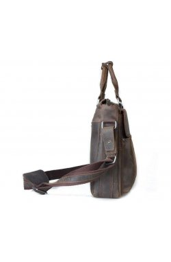 Портфель мужской. Цвет коричневый.