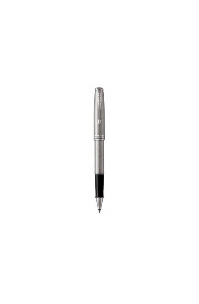 Ручка Parker роллер SONNET 17 Stainless Steel CT RB 84 222, Корпус - Металлический, Франция