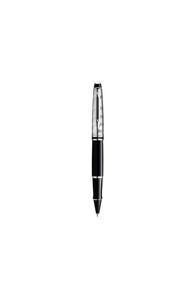 Ручка роллер Waterman Expert Deluxe Black CT RB 40 038, Корпус - Черный, Франция